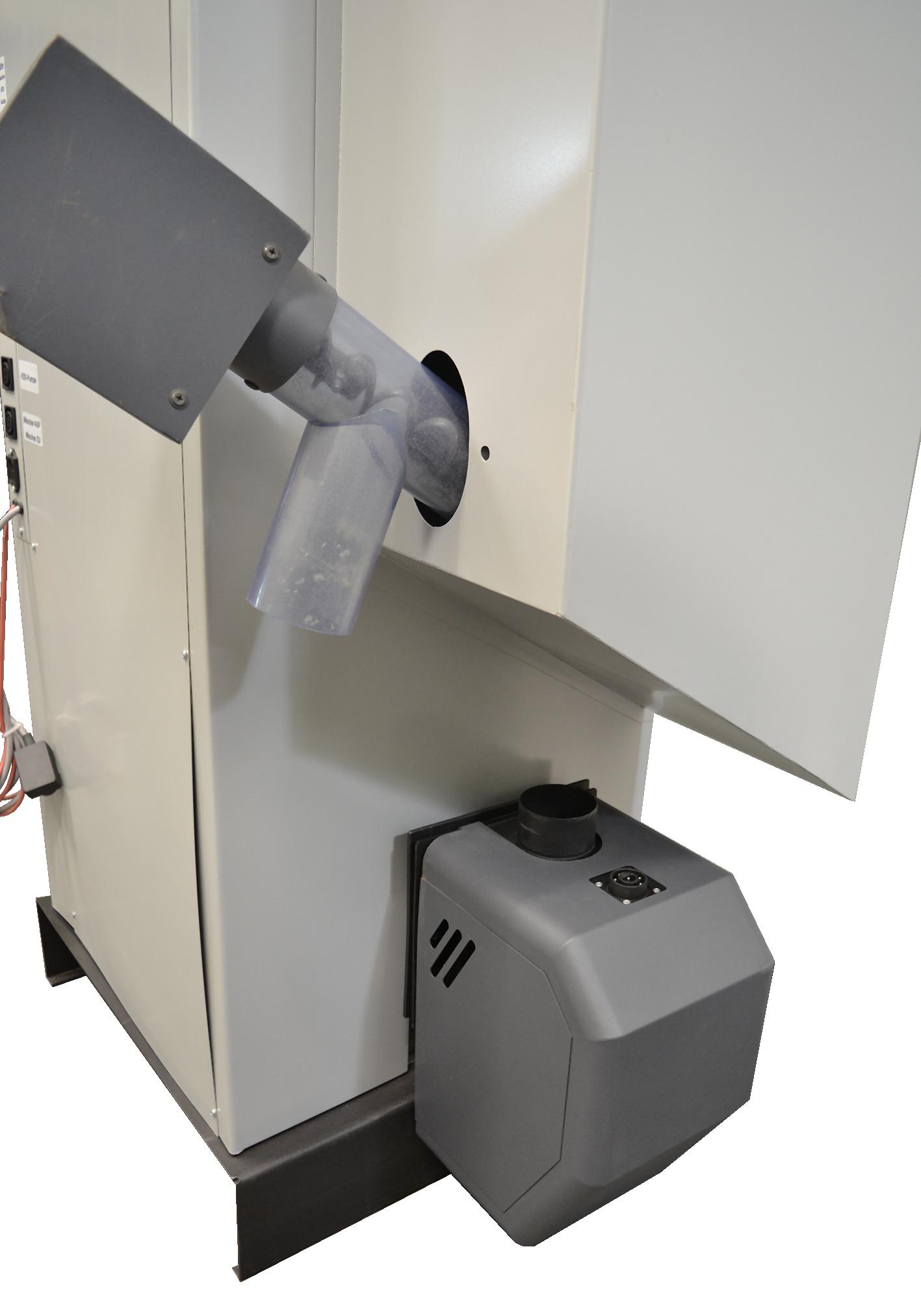 Beim RSP in der S Versiopn ist das Saugsystem, die Förderschnecke und die Saugsonde gleich mit dabei.