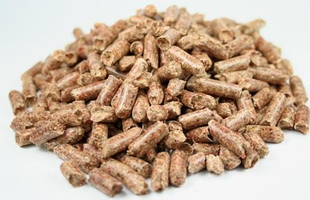 Gute Pellets verbrennen mit einem Aschegehalt von unter 1%.