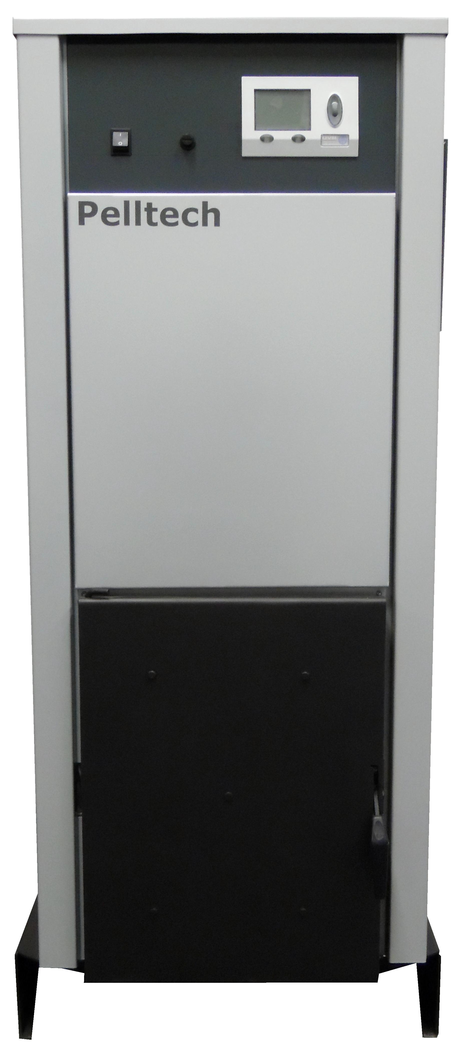 RSP 20KW mit Brenner hinten montiert. Die RSP Serie bietet langlebige Technik zum kleinen Preis.