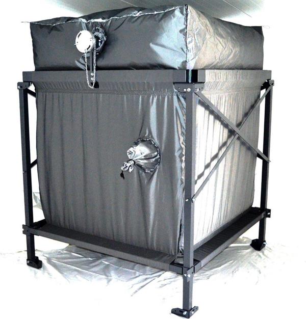 Pelletlagerung     Zur Lagerung von Pellet sind Silos, Tanks oder Bunker optimal.